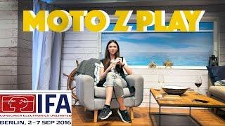 IFA 2016: Moto Z Play