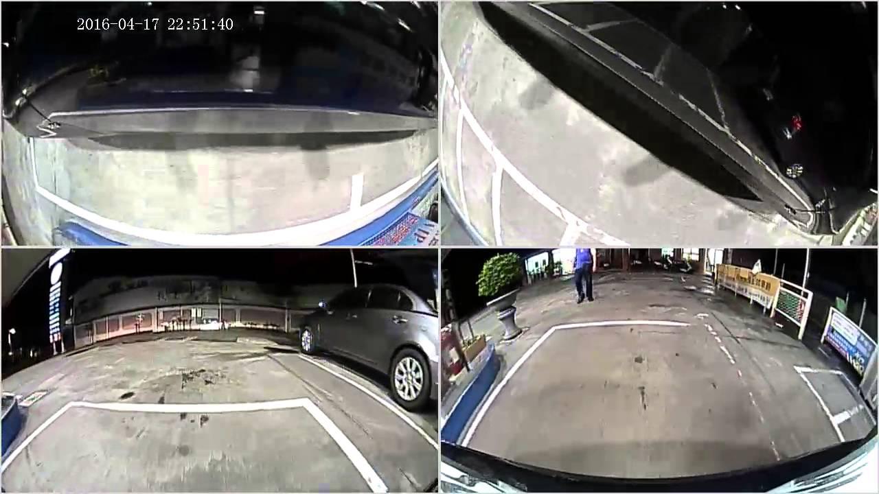 智乘有限公司 360度全景 行車紀錄器 夜間實際拍攝 - YouTube