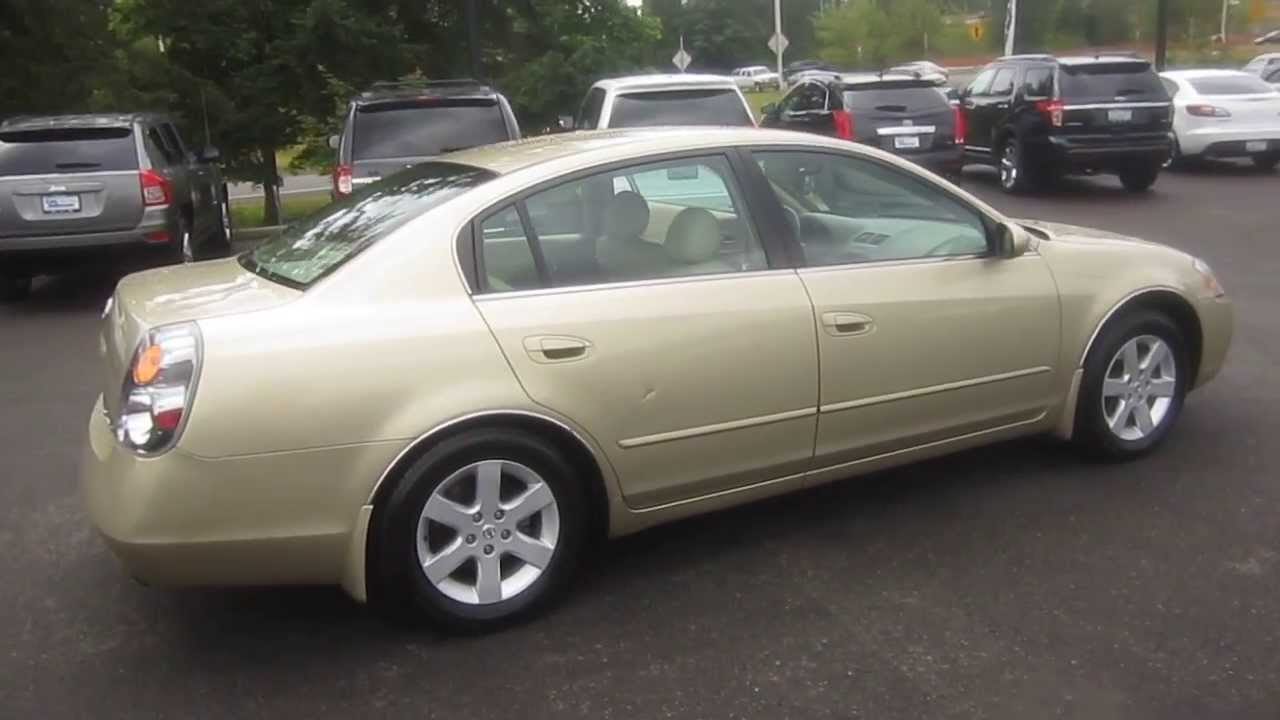 2002 nissan altima gold stock k1309011 walk around youtube 2002 nissan altima gold stock k1309011 walk around vanachro Image collections