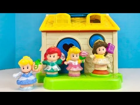 FISHER PRICE Little People House Disney Princesses