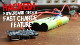 HACKED!: Powerbank gets a Fast Charge Feature