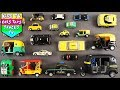 London Taxi's & Auto Rickshaw's For Children | Public Service Vehicles For Kids | Vehicles For Kids