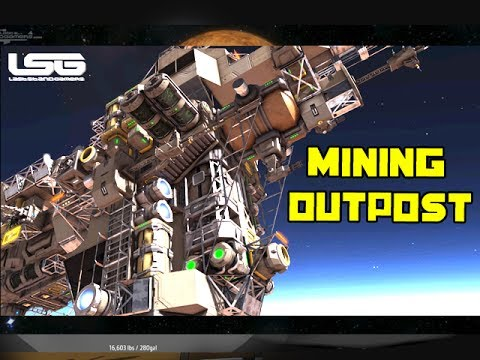 Space Engineers - Citadel Mining Outpost