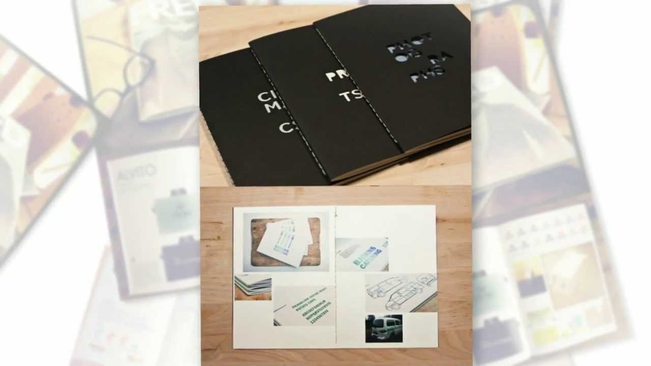 11 graphic design portfolio examples youtube - Design Portfolio Ideas