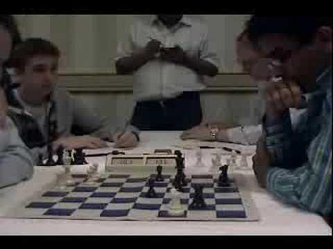 2008 World Open Chess Tournament Playoff