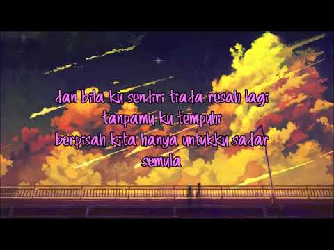 [ LIRIK VIDEO ] RAPUH - NASTIA