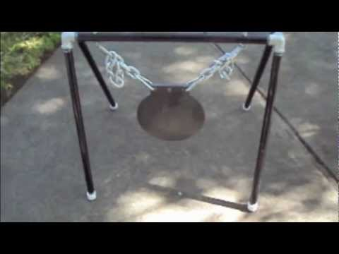 Ar500 Steel Gong Stand Youtube