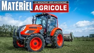 Test drive du Kioti PX9020 à moteur Perkins de 90 chevaux by Matériel Agricole