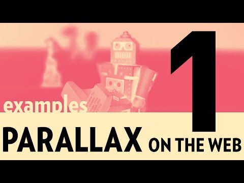 Parallax on the Web (Part 1) - Parallax Examples