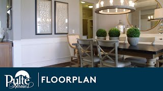 New Homes by Pulte Homes - Hilltop Floorplan