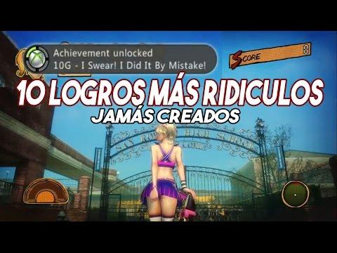 Los 10 logros MÁS RIDÍCULOS Jamás Creados en los Videojuegos