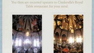 Disney Vacation Planning Disney Dining Cinderella's Royal Table