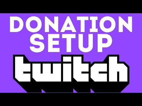 How To Setup Twitch Donations - Twitch Donation Link - 2020