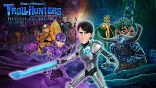 TrollHunters Defenders of Arcadia - Official Announcement Trailer (2020)