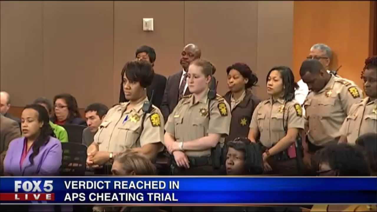 Cheating Case In Atlanta : Ex teacher says she erased answers in atlanta schools cheating