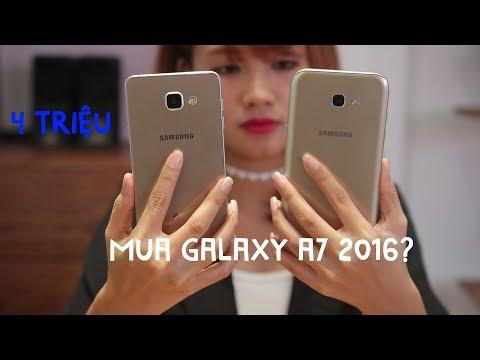 4 triệu đã mua được Galaxy A7 2016?