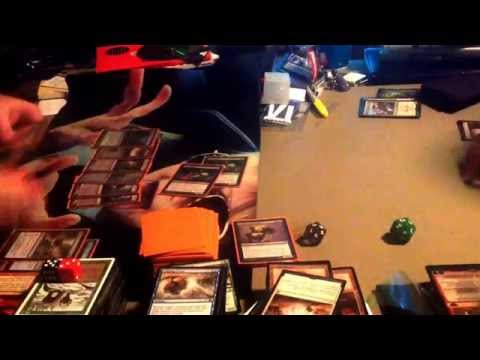 "Mtg Steam brewery Episode 29 Modern Vs Video: Mono Black ""Pile"" Vs Junk (Abzan) Aggro"