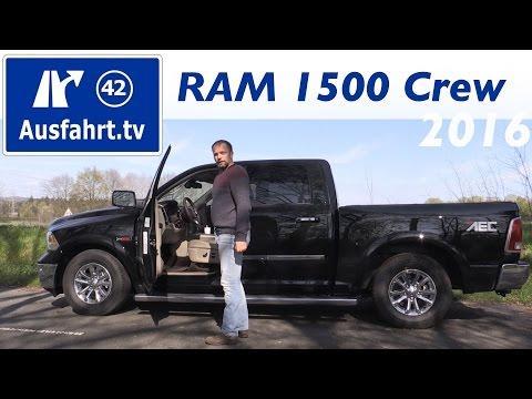 Bild: Zugfahrzeugtest - RAM 1500 EcoDiesel Laramie Crew ShortBox - Fahrbericht und Probefahrt