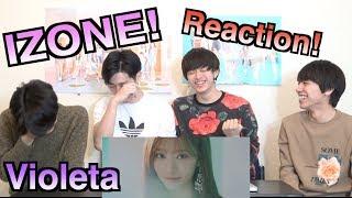 【IZ*ONE - Violeta(비올레타)】일본인이 한국어로 하는 K팝 리액션!!