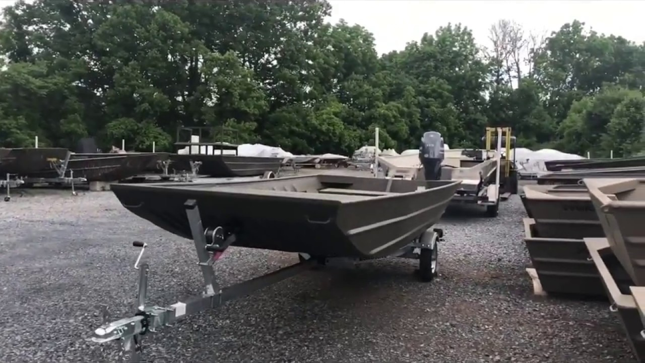 Value Priced , All Welded Aluminum Flat Bottom and Modified V Hull Boat  Packages by Ducky's Boats
