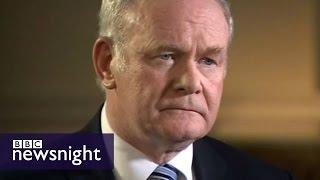 Paxman interviews Martin McGuinness - Newsnight