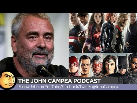 ComicBook Movie Genre Bashing With Luc Besson  The John Campea Podcast