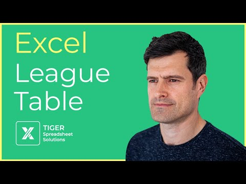 create-a-league-table-in-an-excel-spreadsheet---part-1-of-3