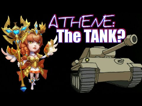 Athene | The NEW!! TANK?? | Castle Clash