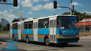 Ikarus 280T (GVM) | 2915 | София (Sofia), Bulgaria (hangfelvétel / audio)