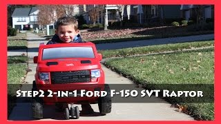 Bg Review: Step2 2 In 1 Ford F 150 Svt Raptor Ride On