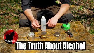 The Truth About Alcohol Stoves  When, Where, Why and Why Not