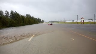 Tempête Florence: des sauveteurs de New York en Caroline du Nord