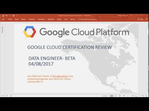 Google Cloud Platform Data Engineer Certification Review