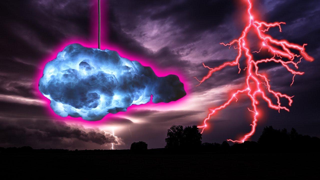 The Amazing Thunder Cloud Lamp!! 🙈🌩💡