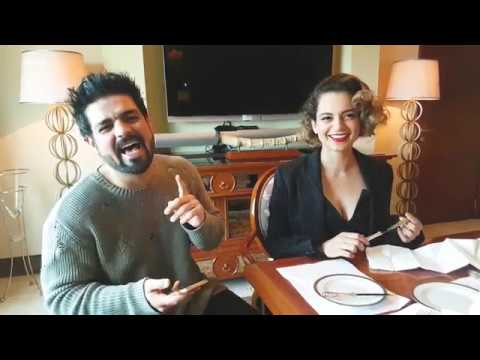 Exclusive catch up with Kangana Ranaut for Rangoon