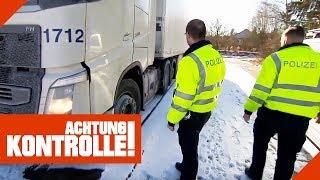 Verdacht der Überladung: LKW muss auf die Waage! Ist er zu schwer? | Achtung Kontrolle | kabel eins