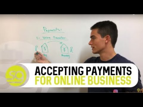 How To Accept Payments For Your Online Business