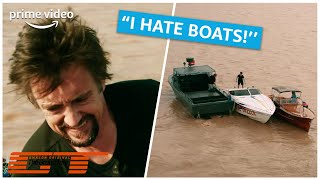 """I don't know how to park a boat"" 