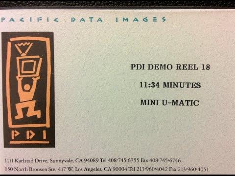 1992 Pacific Data Images PDI Demo Reel 18