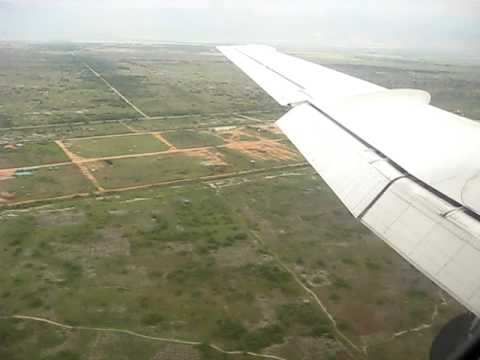 Landing At Bujumbura International Airport in Burundi!