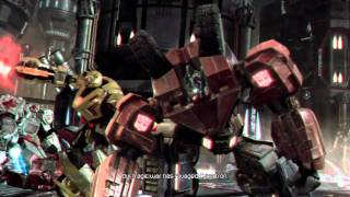 Transformers War For Cybertron  Intro Video  HD