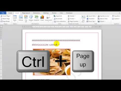 How To Go To Next Page In Microsoft Word