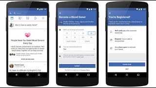 Facebook's b lood donations feature has seen six million Indians sign up
