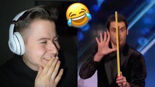 Versuche nicht zu lachen! - Reaktion auf den lustigsten Zauberer der Welt 😂