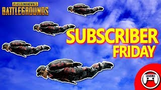 Subscriber Friday - PUBG PS4 Pro Solo Live Stream - PlayerUnknown's Battlegrounds Console