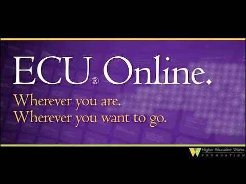 ECU LEADER IN ONLINE EDUCATION