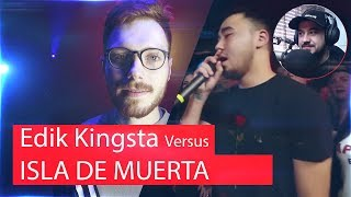 Реакция на EDIK_KINGSTA X ISLA DE MUERTA
