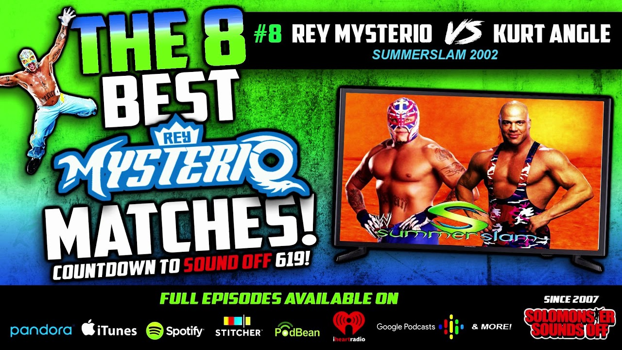 Repeat Rey Mysterio's 8 BEST MATCHES (#8 Kurt Angle At