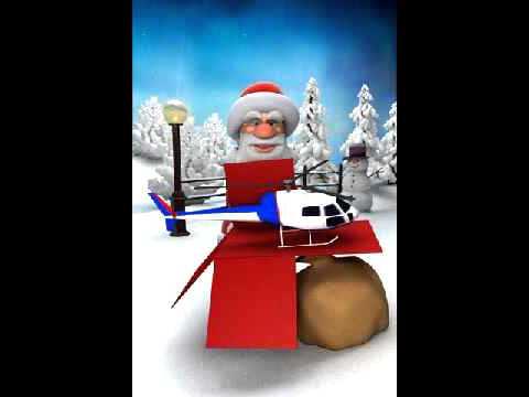 Talking Santa Free Android app Preview