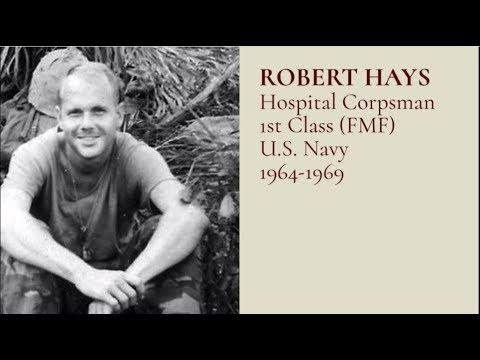 #TributetoaVeteran - HM1(FMF) Robert Hays, US Marine Corps 1964-19691080p